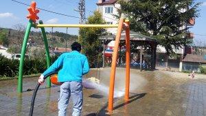 Bilecik Belediyesi'nden hummalı temizlik çalışması
