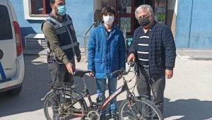 Bolu'da bisiklet hırsızı yakalandı