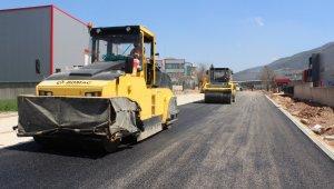 BOSAB'da asfalt hamlesi - Bursa Haberleri