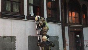 Bursa'da korkutan yangın: 1 kişi dumandan etkilendi, onlarca kedi kurtarıldı
