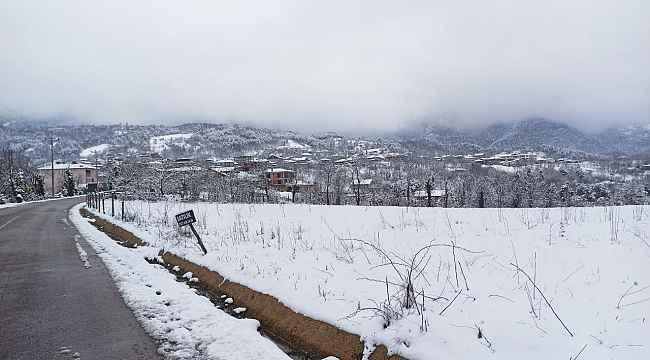 Bursa'nın merkez ilçelerinde kar kalınlığı 20 santimetreye ulaştı - Bursa Haberleri