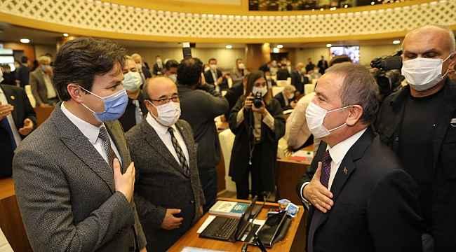 Büyükşehir Belediye Meclisi, Muhittin Böcek başkanlığında toplandı