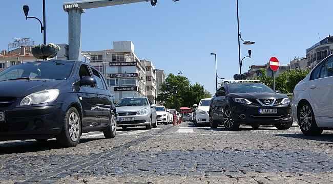 Çanakkale'de trafiğe kayıtlı araç sayısı 241 bin 536 oldu