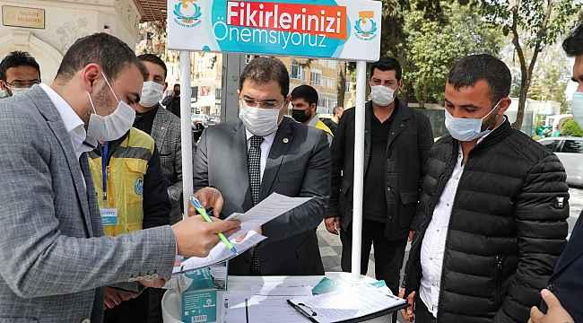 Canpolat vatandaşların taleplerini projelendiriyor