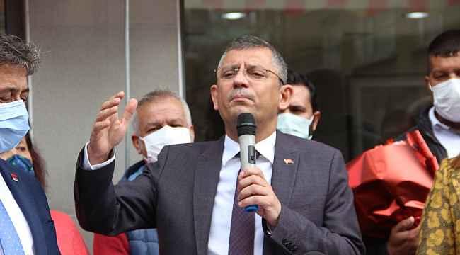 CHP Grup Başkanvekili Özel'den emekli amirallerin bildirisine ilişkin açıklama