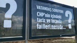 CHP'nin '128 milyar dolar nerede?' Pankartına Ağrı'dan tepki geldi