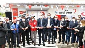 Çiğli Sosyal Market hizmete açıldı