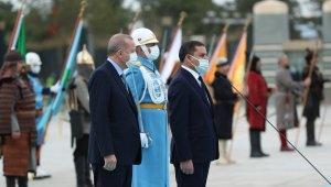 Cumhurbaşkanı Erdoğan, Libya Milli Birlik Hükümeti Başbakanı Dibeybe'yi kabul etti