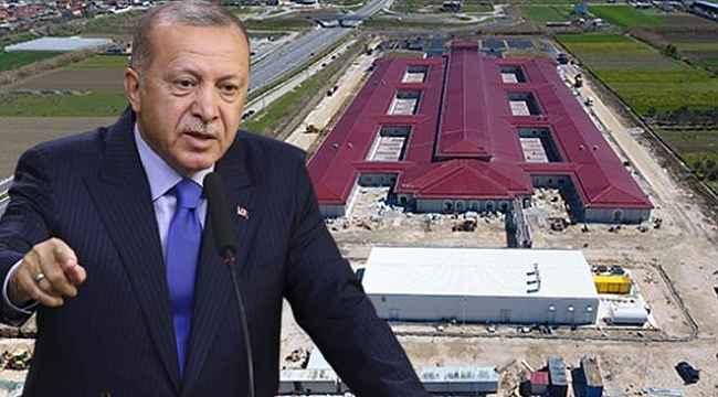 Cumhurbaşkanı Erdoğan talimat verdi, Arnavutluk'taki hastane 48 günde inşa edildi