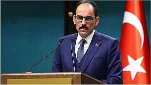 Cumhurbaşkanlığı Sözcüsü İbrahim Kalın'dan İsrail'e tepki