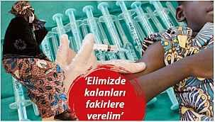 """Danimarka'dan skandal karar... """"Aşıları fakir ülkelere verebiliriz"""""""