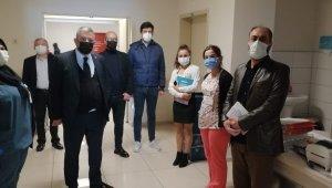 Demokratik Sağlık Sen'den hastanelere ziyaret