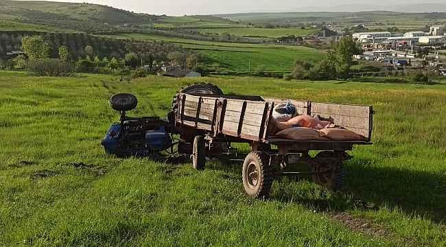 Devrilen traktörün altında kalarak can verdi - Bursa Haberleri