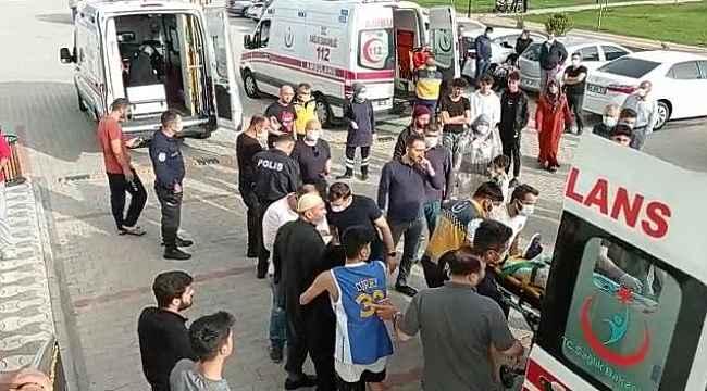 Diyarbakır'da halatı kopan asansörde can pazarı