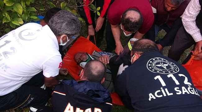 Drone destekli arama sonuç verdi, yaşlı adam sağ bulundu