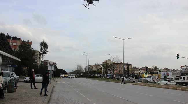 Drone destekli denetimde 45 dakikada 6 bin TL ceza uygulandı