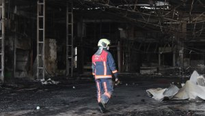 Dükkanları yanan Kasaplar Çarşısı esnafı yaşadıklarını anlattı