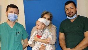 Elyesa bebek Türkiye'de sağlığına kavuştu