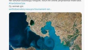 Emine Erdoğan'dan Van Gölü fotoğrafına destek