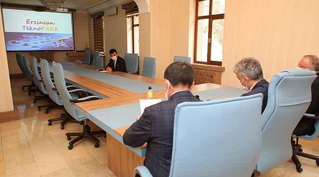 Erzincan'da Teknopark Projesi için ilk imzalar atıldı