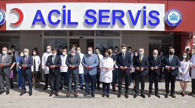 ESOGÜ Hastanesi Acil Servisi'nde yenilenen kısımlar açıldı