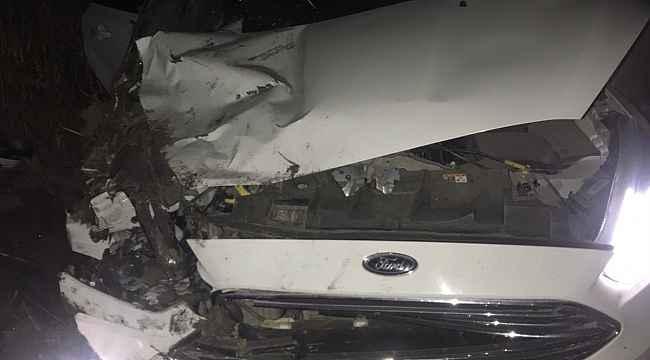 Filyasyon ekibi kaza yaptı: 3 yaralı