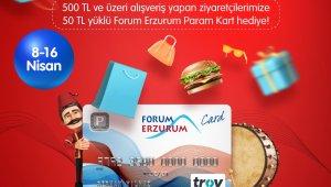 Forum Erzurum'a Ramazan bereketi ile geliyor