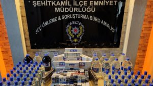 Gaziantep'te kaçak alkol operasyonu