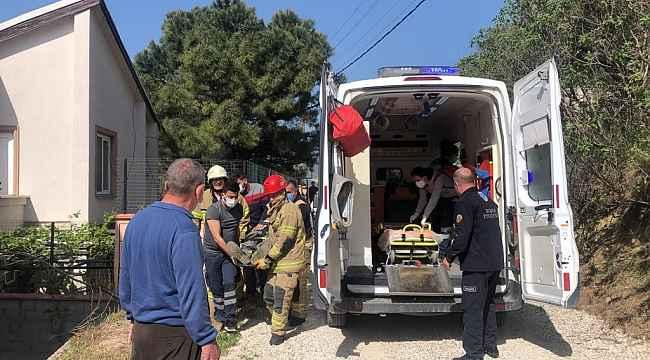 Gemlik'te traktör kazası: 1 yaralı - Bursa Haberleri