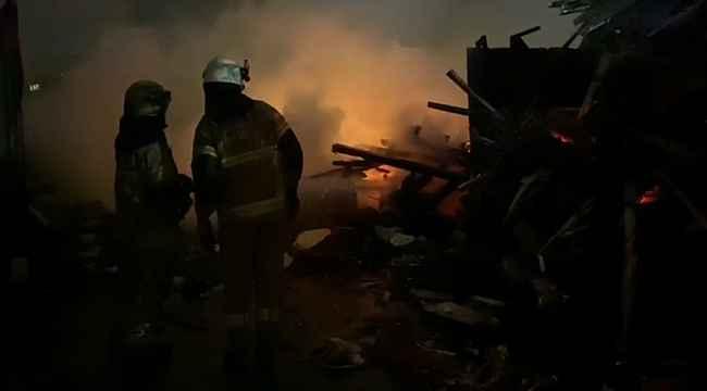 Hurdacıda korkutan yangın - Bursa Haberleri