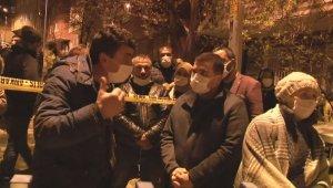 İçişleri Bakanı Soylu, çökme tehlikesi bulunan binada incelemelerde bulundu