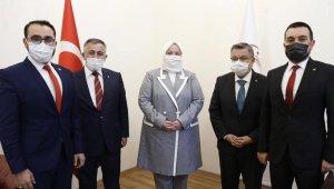 İl Başkanı Yıldırım'dan Bakan Selçuk'a ziyaret