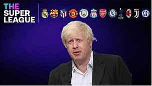 İngiltere Başbakanı Boris Johnson'dan Avrupa Süper Ligi açıklaması