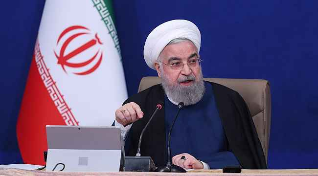 """İran Cumhurbaşkanı Ruhani: """"Viyana'daki görüşmelerde önemli ilerleme sağlandı"""