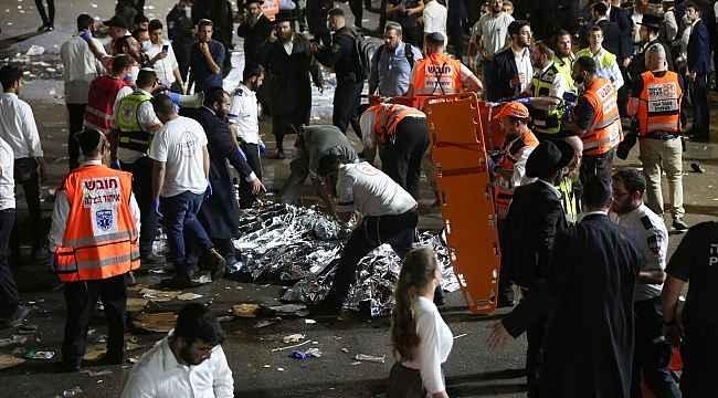 İsrail'de Lag B'Omer Bayramı kutlamalarında facia: 44 ölü, 103 yaralı