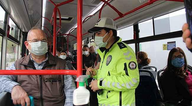 İzmir'de toplu ulaşım araçlarına 'dinamik denetleme'