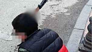 Kafasına bıçak saplanmıştı: Yeni görüntüler ortaya çıktı