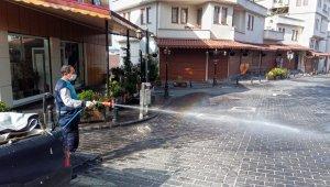 Kahramanmaraş'ta dezenfeksiyon çalışmaları
