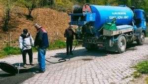 Kanalizasyon hatlarındaki sorunlar çözüldü