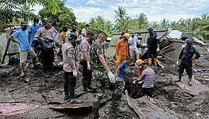 Kasırganın vurduğu Endonezya'da ölü sayısı 180'i aştı