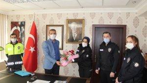Kaymakam Çiçek: ''Korona virüs ile mücadelede polisimizin fedakârlığı takdire şayandır''