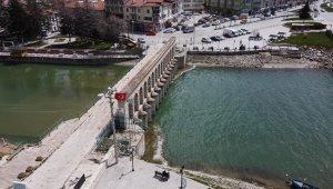 """Kaymakam Özdemir: """"Beyşehir Gölünde 1122,40 kot seviyesinin altına kesinlikle inilmemesini diliyoruz"""""""