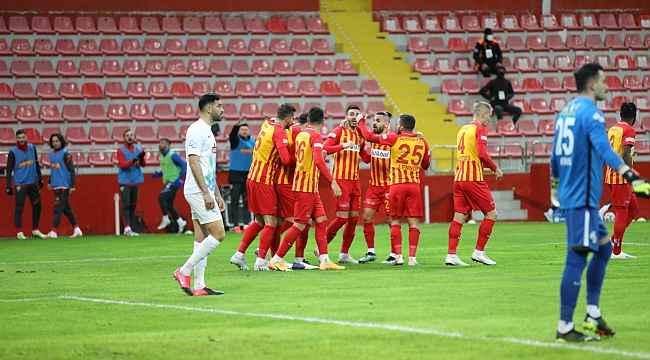 Kayserispor'un 5 haftalık maç programı belli oldu