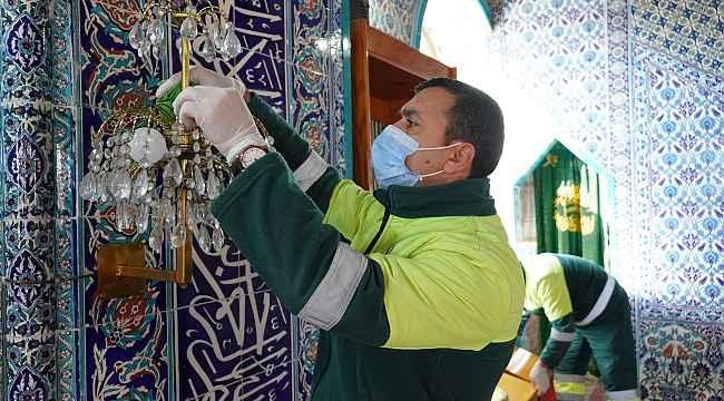 Keçiören, Ramazan'a gül kokulu camilerle girecek