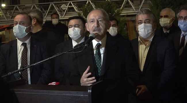 """Kemal Kılıçdaroğlu'ndan Ayancıklılara: """"Demokrasiyi getireceğiz, umudunuzu kaybetmeyin"""""""