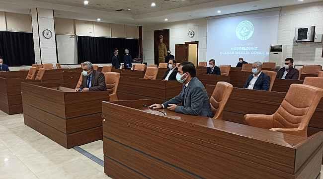 Keşan Belediye Meclisine korona virüs engeli