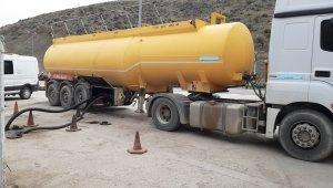 Kırıkkale'de 31 bin 926 litre akaryakıta el konuldu