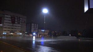 Kırıkkale'de hafif kar yağışı başladı