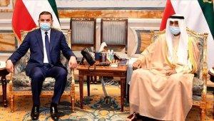 Libya Başbakan Dibeybe, Kuveyt Kralı Al-Sabah ile bir araya geldi