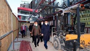 Malatya Büyükşehir, Çilesiz otobüs durağını yeniliyor